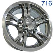 Sakura Wheels. 7.0x15, 5x139.70, ET0, ЦО 110,5мм. Под заказ