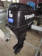 Tohatsu. 18,00л.с., 4х тактный, бензин, нога S (381 мм), Год: 2007 год
