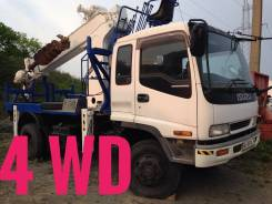 Isuzu Forward. Автобуровая 4WD, D 705, 6 500 куб. см.