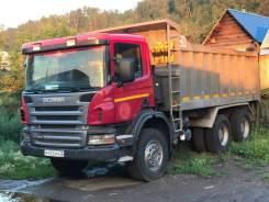 Scania. p380, 11 000 куб. см., 25 000 кг.