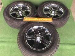 275/60R18 Dunlop на литье. 3 шт. (И1). 8.5x18 6x139.70 ET18 ЦО 110,0мм.