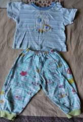 Футболка и штаны на малыша