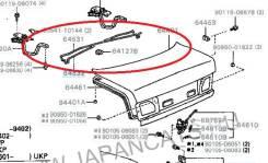 Амортизатор двери багажника. Toyota Carina E, ST191, AT190L, AT191L, ST191L, AT191, AT190, CT190L, CT190 Toyota Corona, AT190, CT195, ST195, CT190, ST...