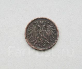 Старая Австрия. 2 геллера 1895 г