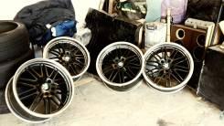 Колеса разноширокие с полкой на BMW 5*120. 8.5/9.5x19 5x120.00 ET-20/-22 ЦО 74,1мм.