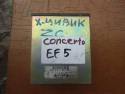 Блок управления двс. Honda Civic, E-EF5 Honda Concerto, MA3, E-MA3 Двигатель ZC