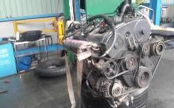 Двигатель в сборе. Mitsubishi Libero, CB8W Двигатель 4D68