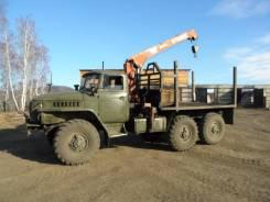 Урал 4320. Продам УРАЛ 4320 с манипулятором, 2 500 куб. см., 3 500 кг.
