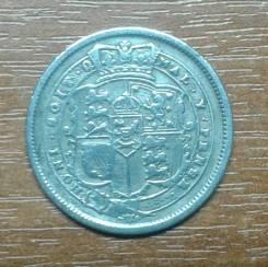 Великобритания (Англия) 1 шиллинг 1819 George III. KM 666. Серебро