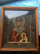 Икона ручная работа святой Николай