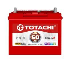 Totachi. 50 А.ч., правое крепление, производство Корея