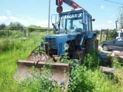"""МТЗ 82. Продам трактор """"Беларус"""" МТЗ82 вместе с телегой двух осной самосвалом, 4 700 куб. см."""