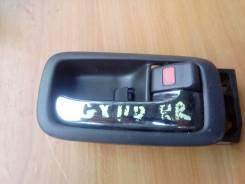 Ручка двери внутренняя. Toyota Mark II, GX110 Двигатель 1GFE