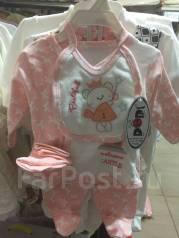Комплекты для новорожденных. Рост: 50-56, 62-68 см