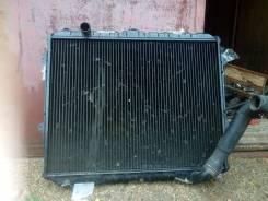 Радиатор охлаждения двигателя. Toyota Hilux Surf, KZN130G, VZN130G, YN130G, LN130G Двигатели: 2LT, 2LTE