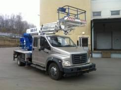 Випо-24. Автогидроподъемник ВИПО-24-01 на шасси ГАЗ-С42R33 NEXT (4х2)(7м. каб), 22 000 куб. см., 24 м.
