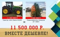 John Deere 8335R. Трактор , 9 000 куб. см.
