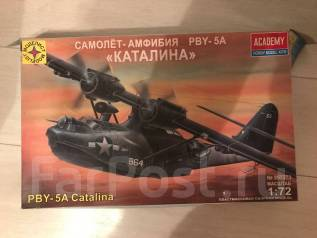 Продам сборную модель самолёта PBY-A5 Каталина 1:72