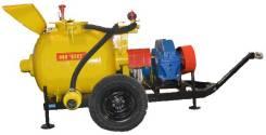Пневмонагнетатель СО-241ТМК на колесном ходу (двигатель 7,5 кВт)