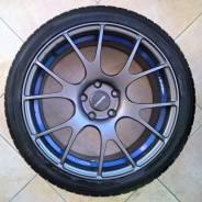 Weds sport SA-67R r18 шикарные редкие колеса. 8.0x18 5x114.30 ET45 ЦО 73,0мм.