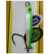 "Блесна) COHO KILLER Silver hord#676 DG UV Green Edge ""Irish Cream"" ("