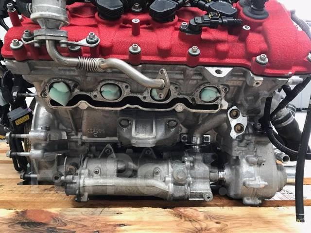 Двигатель 4.5B на Ferrari 458 Italia