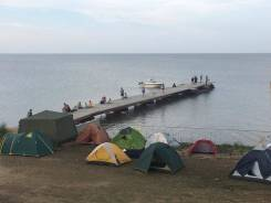 Отдых на берегу озера Ханка