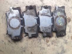 Колодка тормозная. Toyota Camry, ACV40, ACV41, GSV40, AHV40 Двигатели: 1AZFE, 2AZFXE, 2AZFE, 2GRFE