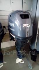 Yamaha. 25,00л.с., 4-тактный, бензиновый, нога S (381 мм), Год: 2016 год. Под заказ