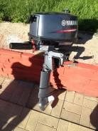 Yamaha. 5,00л.с., 2х тактный, бензин, нога S (381 мм), Год: 2012 год