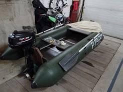 Aqua-Storm. Год: 2011 год, длина 280,00м., двигатель подвесной, 3,60л.с., бензин