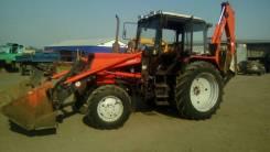 МТЗ 82. Трактор экскаватор, 2 000 куб. см., 0,75куб. м.