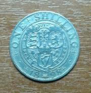 Великобритания (Англия) 1 шиллинг 1898 Victoria. KM 780. Серебро