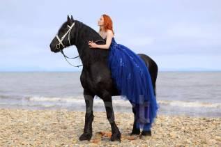 Волшебные зимние фотосессии с лошадьми и не только!