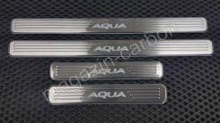 Накладка на порог. Toyota Aqua, NHP10 Двигатель 1NZFXE