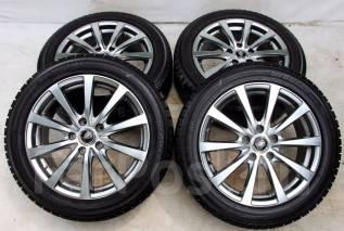 Колёса с шинами =Manaray sport= R17! Протектор 8 мм! (№ 55826). 7.0x17 5x114.30 ET55