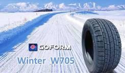 Goform W705. Зимние, без шипов, 2017 год, без износа, 4 шт
