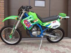 Kawasaki KDX 125SR. 250 куб. см., исправен, птс, без пробега