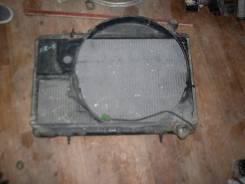 Радиатор охлаждения двигателя. Nissan Skyline, HR33 Двигатель RB20E