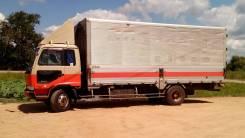 Nissan Diesel Condor. Продам Nissan-Diesel бабочка 5т 32 куб , пошлина оригинал, 7 000 куб. см., 5 000 кг.