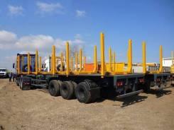 МАЗ 998640-010. Полуприцеп-сортиментовоз МАЗ-998640-010, 31 000 кг.