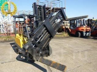 TCM. Японский вилочный погрузчик с ротатором, 2 400 куб. см., 1 500 кг.