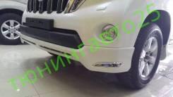 Обвес кузова аэродинамический. Toyota Land Cruiser Prado, GDJ151W, GRJ150L, KDJ150L, GDJ150W, TRJ150, GDJ150L, TRJ150W, GRJ150W, GRJ151W, GRJ151, GRJ1...