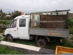 ГАЗ 33023. Продам газель 2ух кабинную бортовую 2008г, 2 500 куб. см., 1 500 кг.