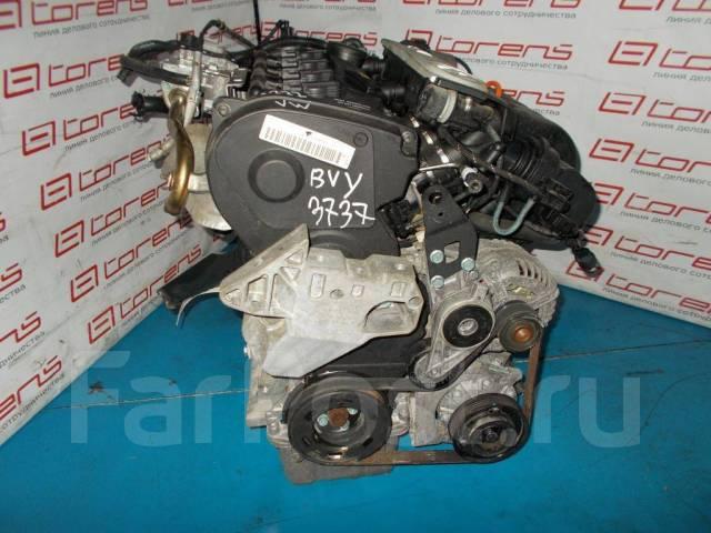Двигатель в сборе. Volkswagen: Passat, Eos, Jetta, Touran, Golf, Golf Plus Двигатель BVY