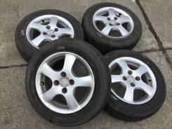 175/65R14 Bridgestone лето на литье Honda (1483). 5.5x14 4x100.00 ET45 ЦО 55,0мм.