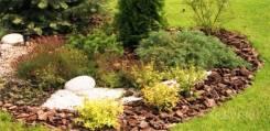 Укладка газона, озеленение, ландшафтный дизайнер