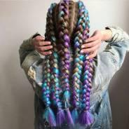 Канекалон Набор для плетения цветных кос 500р В Наличии