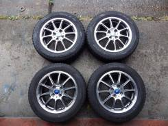 Комплект готовых колес для Honda Fit, Insight, Toyota Vitz, Fielder. 5.5x15 4x100.00 ET40