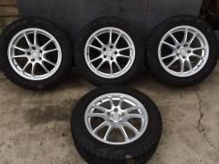 Зимние колеса 225-55-17 на литье Bridgestone. 7.0x17 5x114.30 ET45